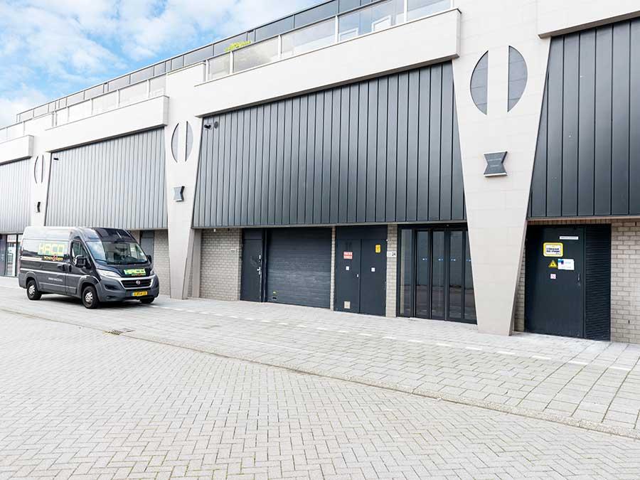 Business Centre Overstad, het bedrijven centrum inclusief ...